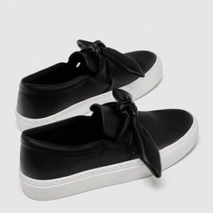 ZARA Sneakers with Bow